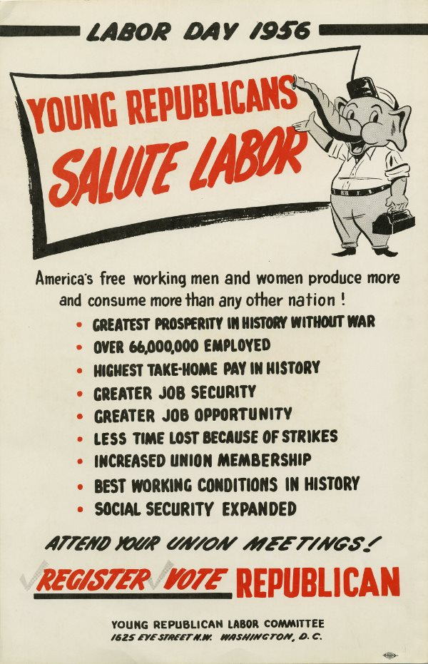 1956 Labor Day flyer