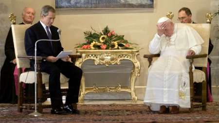 Bush and the Pope